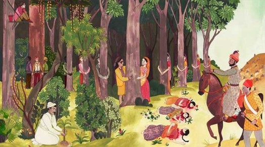 Chipko movement for Soil erosion meaning in hindi